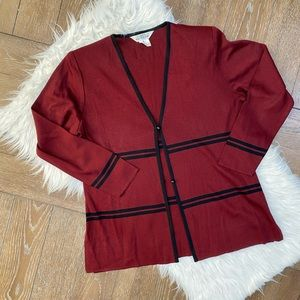 Exclusively misook knit cardigan